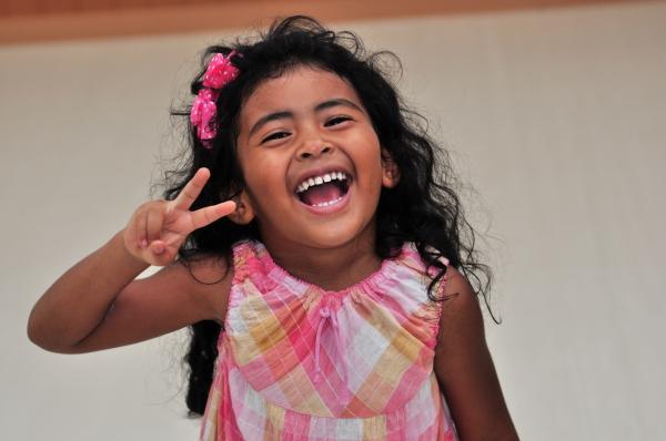 Little Rhema is super-cute.