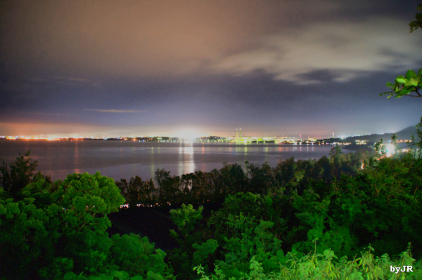 A long exposure shot in Okinawa.