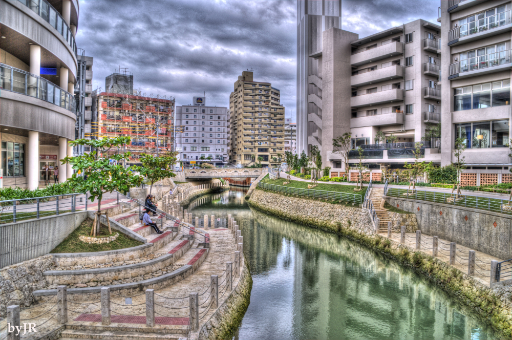 A look at the New Naha city.