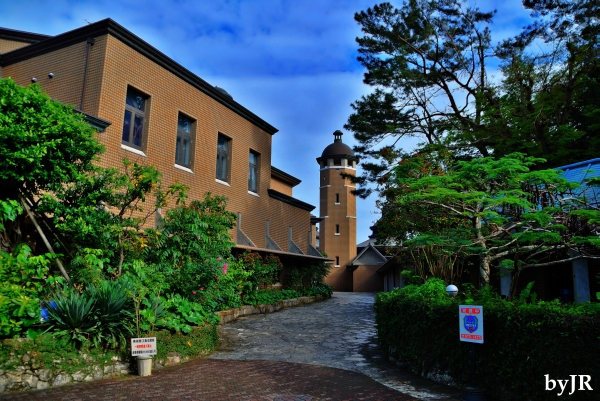 This is the Urasoe City Art Museum.