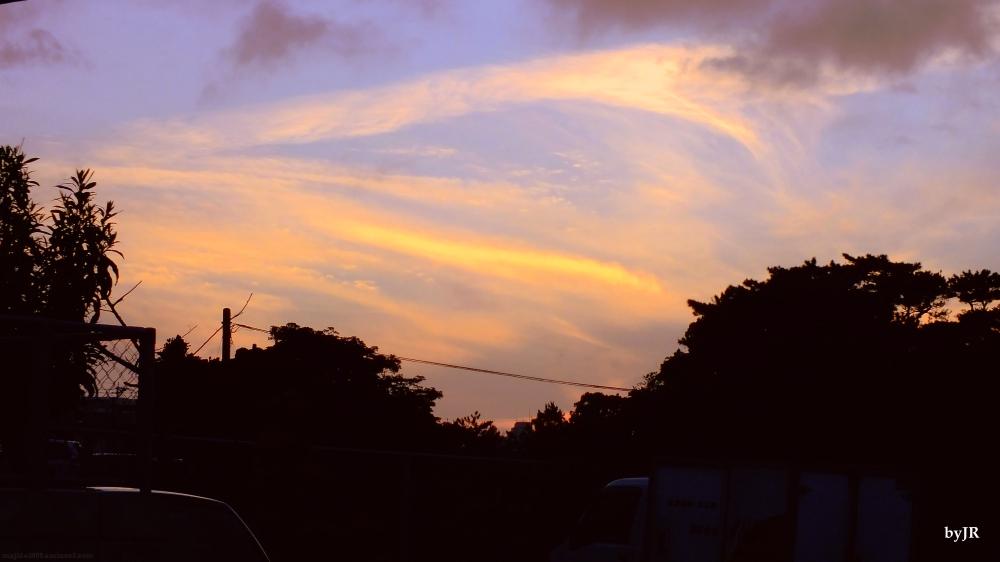 Tonight's awesome sky.