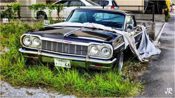 64 Chev. Impala SS would make a fine ride.