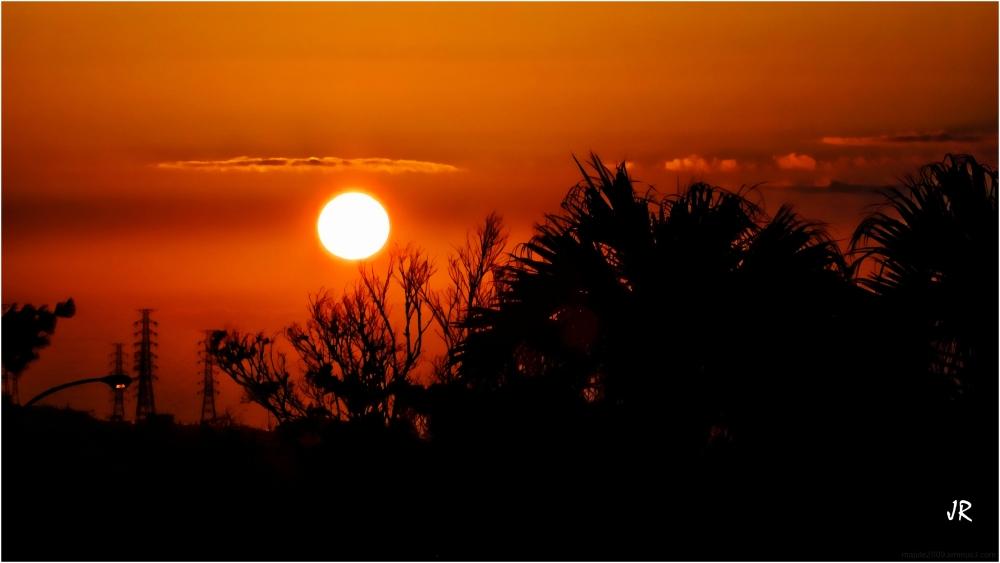 Sunrise in Okinawa.