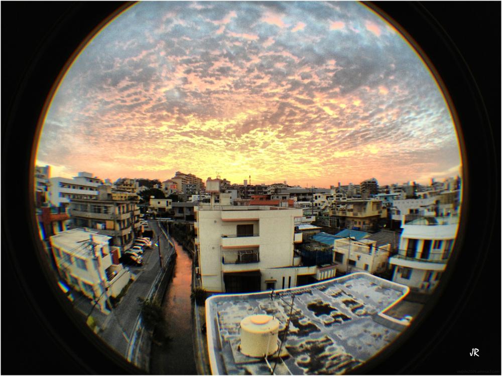 An Okinawa sunrise.