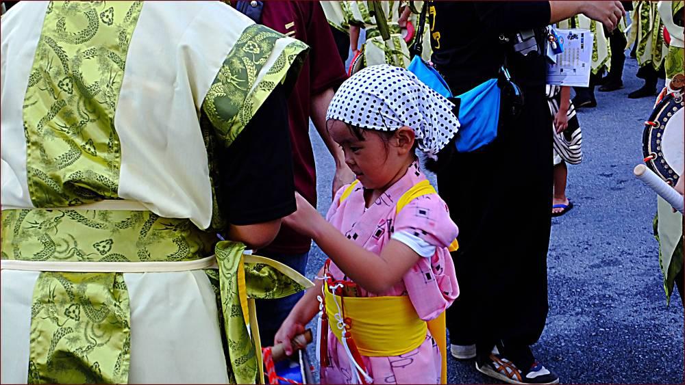 Kawaii little Eisa dancer.
