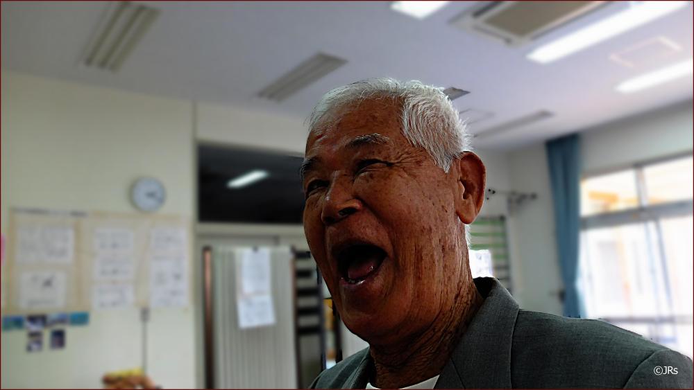 A 90 year old survivor of atomic warfare.