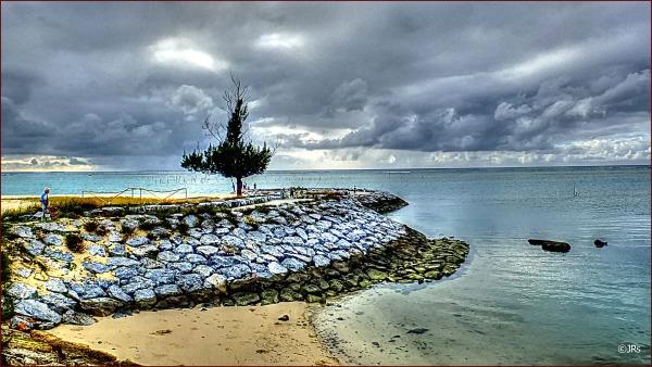 Taken from the bridge by Araha Beach.