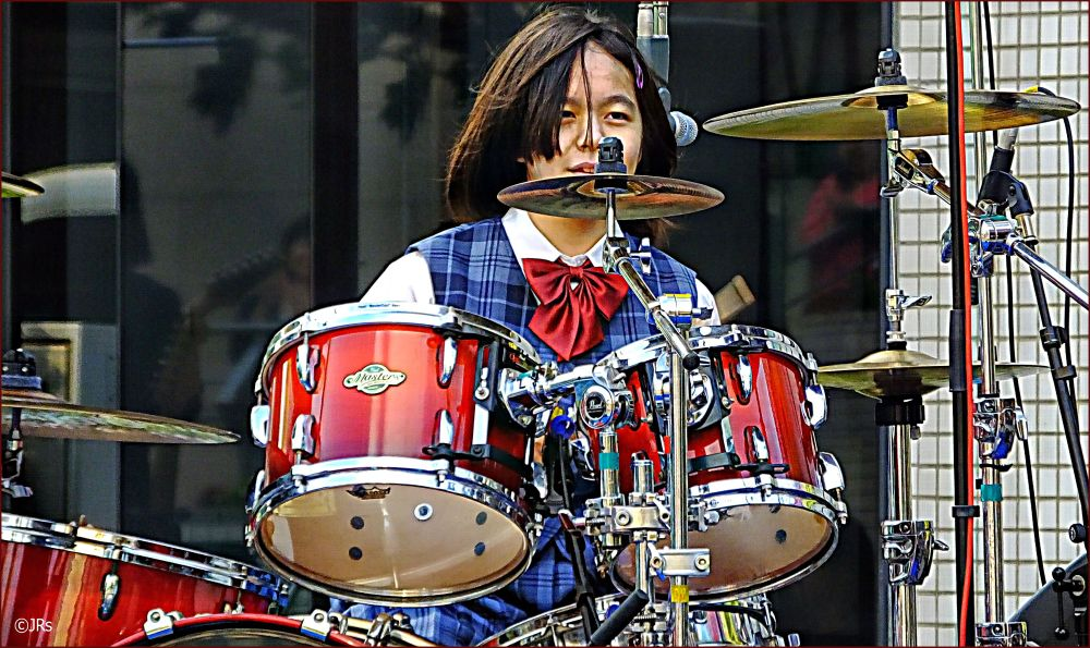 Drummer in a rock band:)