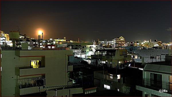 A little night moon.