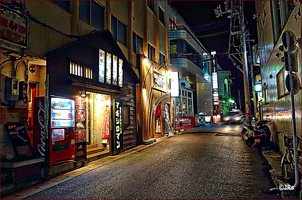 Another side street in Naha.