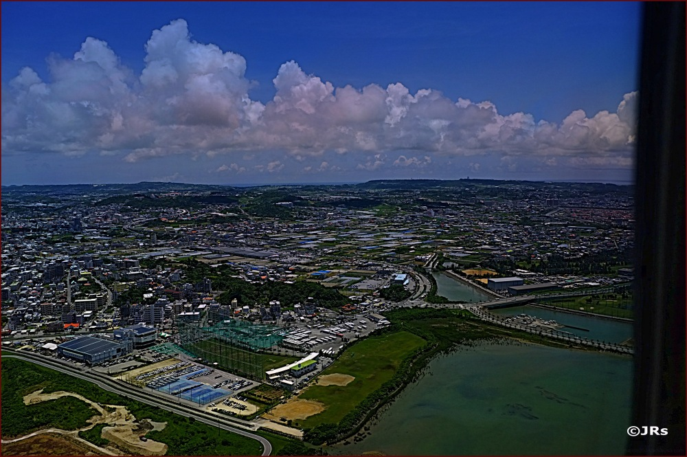Another airview over Okinawa.