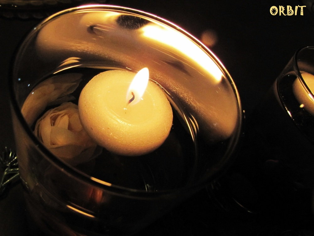 Candle glass light