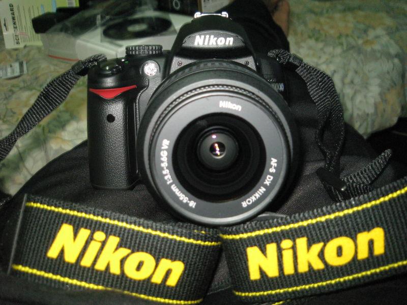 Unboxing my nikon D5000