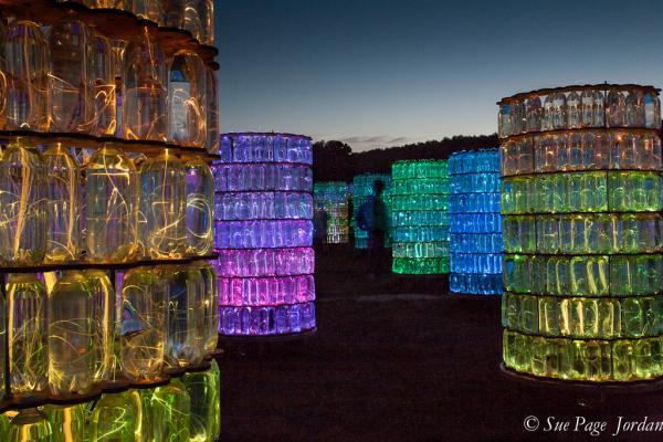 Light Installation at Longwood Gardens