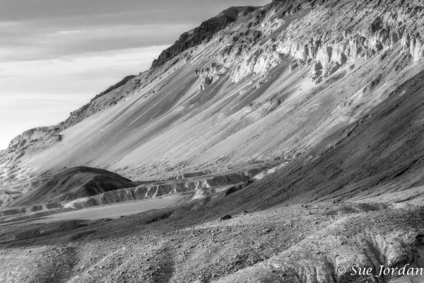 Slide Sand in Death Valley NP