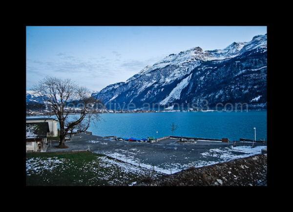 Dusk over Lake Brienz