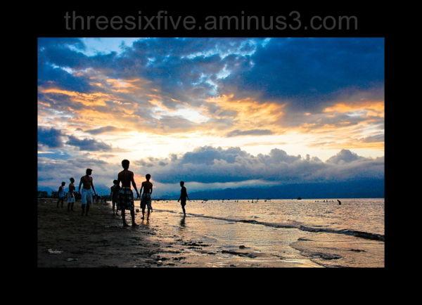 Sunset in Da Nang