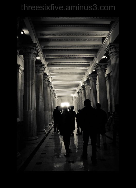 Under the Capitol Building Without a Guide