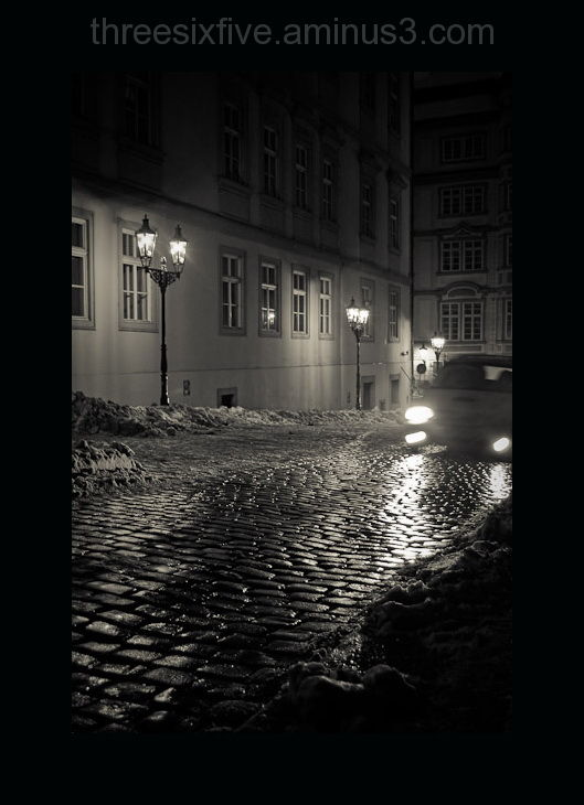 Cobblestone Streets of Prague