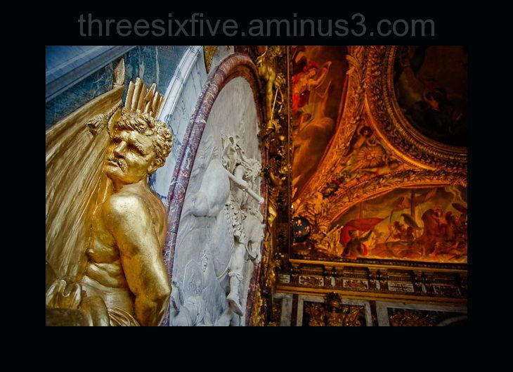 Versailles Palace Wall