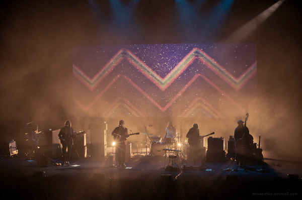 The Fleet Foxes at the Sydney Opera House.