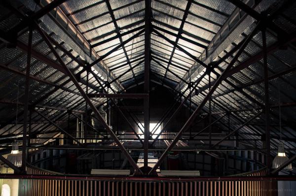 Interior of Glassworks