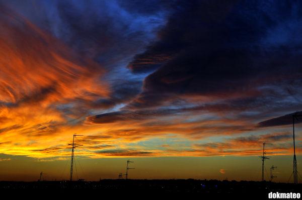 Flaming Sunset