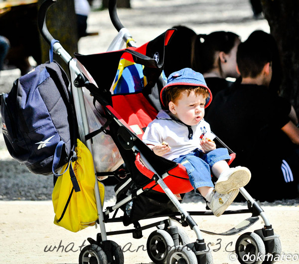 Sick and tired of stroller...