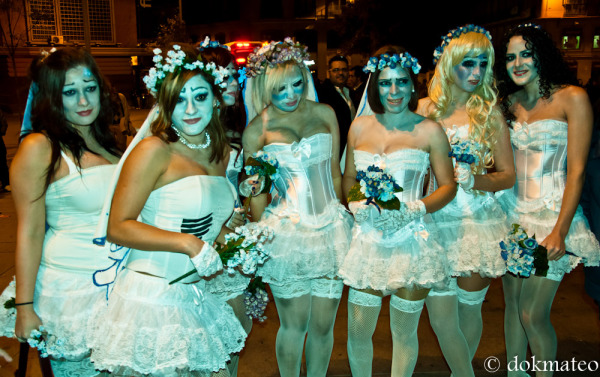 Halloween Bridesmaids