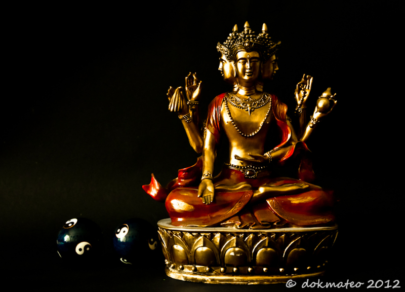 Triple Headed Buddha