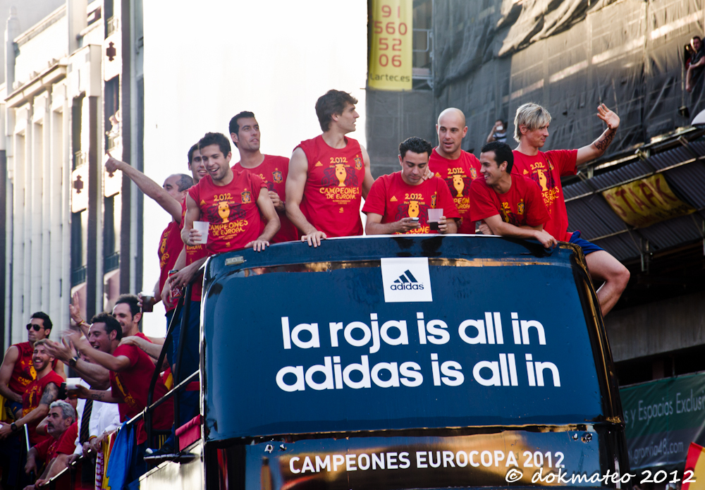 Caras de Campeones Eurocup´12 (Faces of Champions)