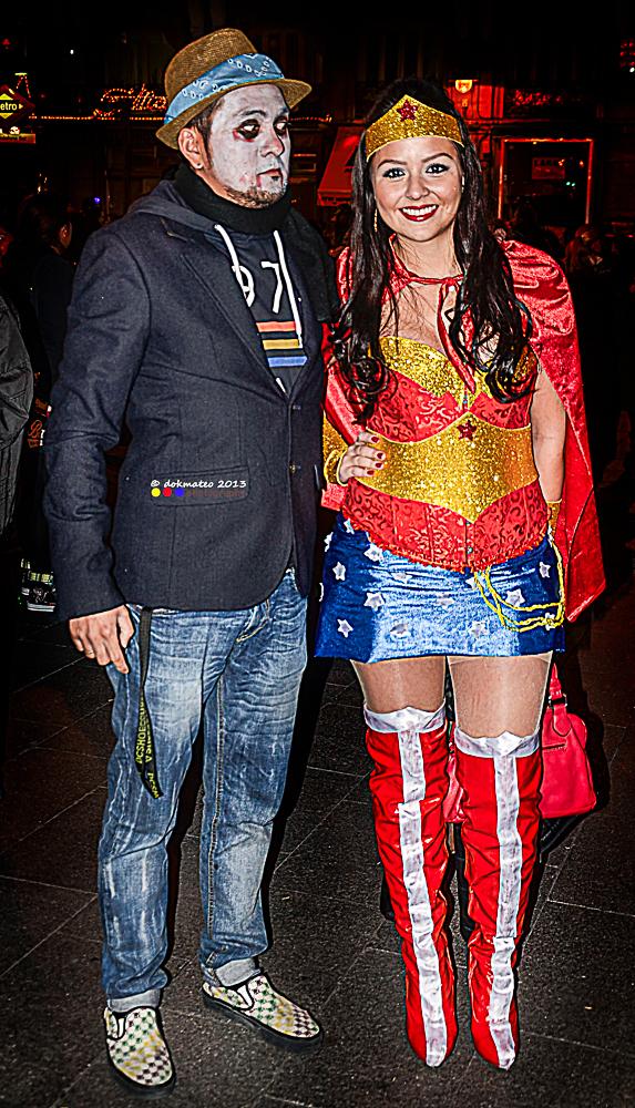 Dokmateo meets Wonderwoman