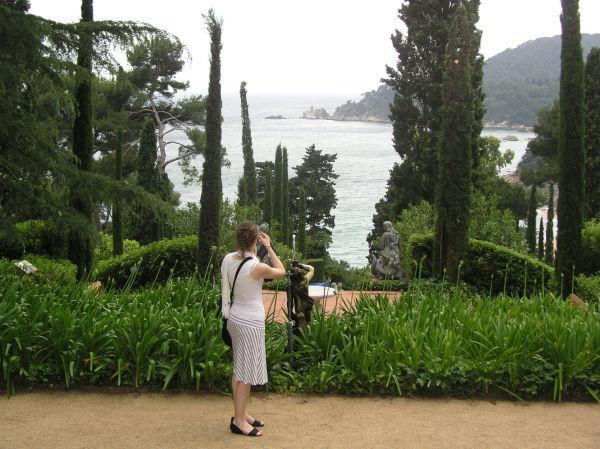 Jardins  de Sta Clotilde  (LLoret de Mar )