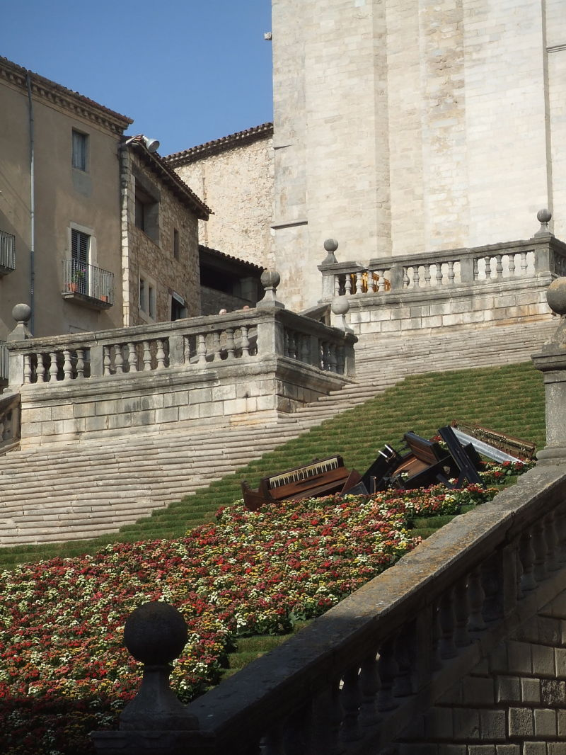Girona i les flors
