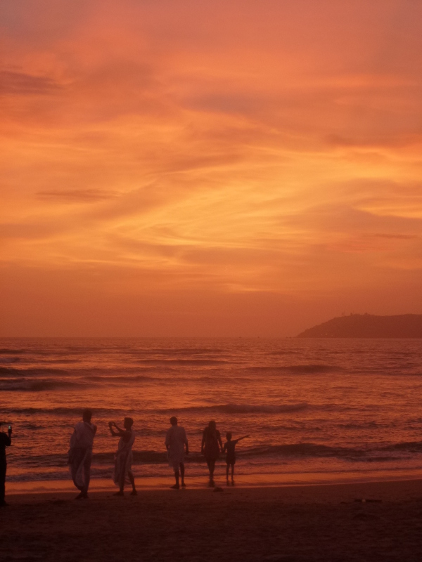 Miramar beach  (Goa ) INDIA