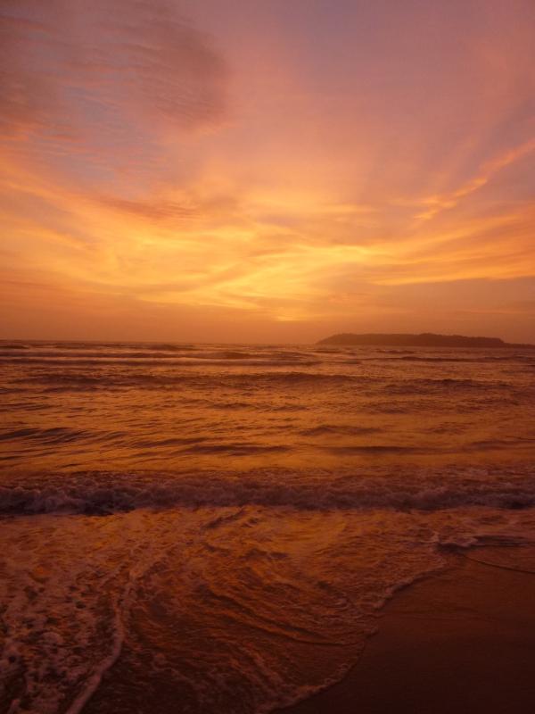 Miramar beach  (Goa ) INDIA