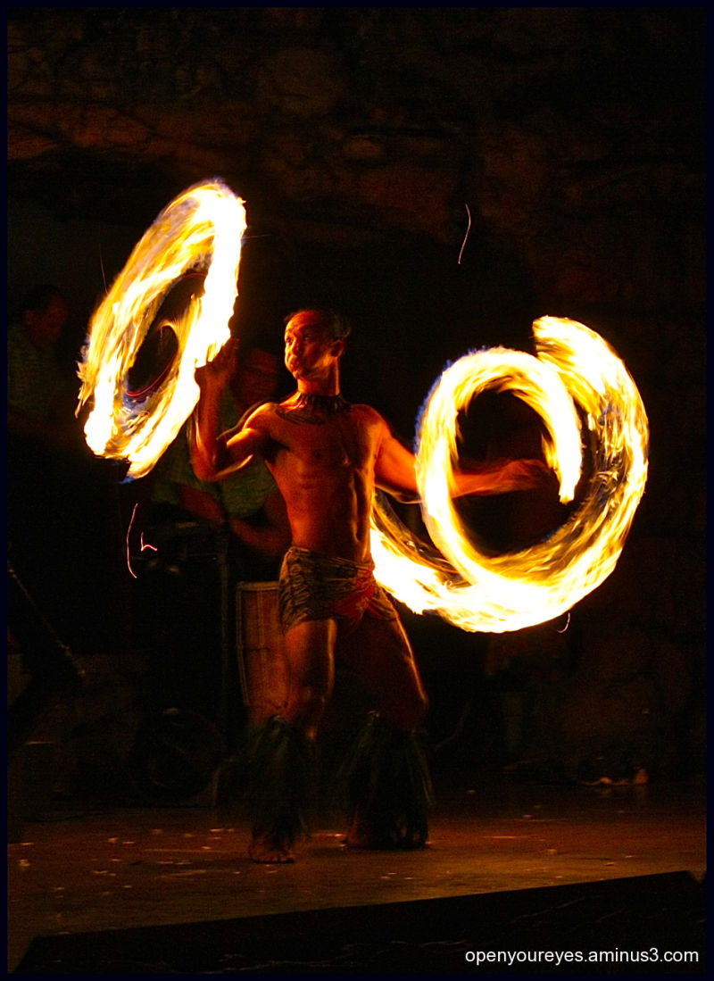 Dangerously cool Fire Dance