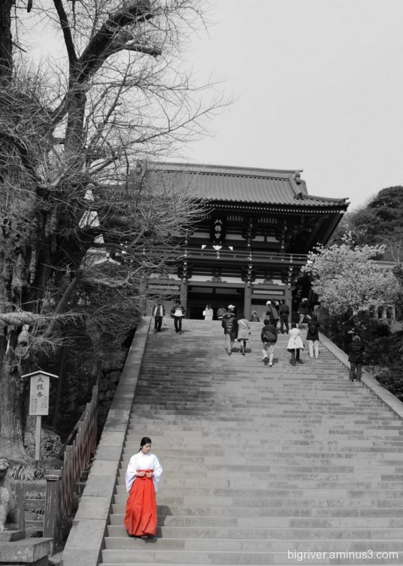 A shrine in Japan, March 2007