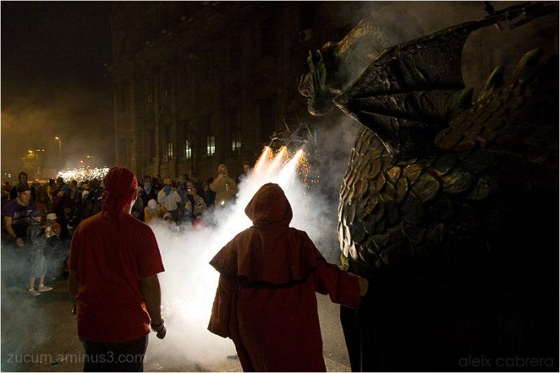 Correfoc de la Mercè 2010, Barcelona