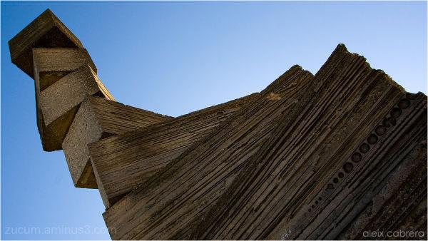 Subirachs' sculpture at Montserrat Mountain