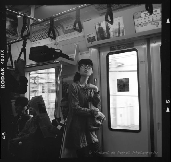 Metro candid in Tokyo