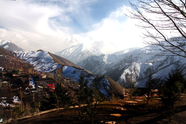 Nature Fasham near Tehran. HDR Photography