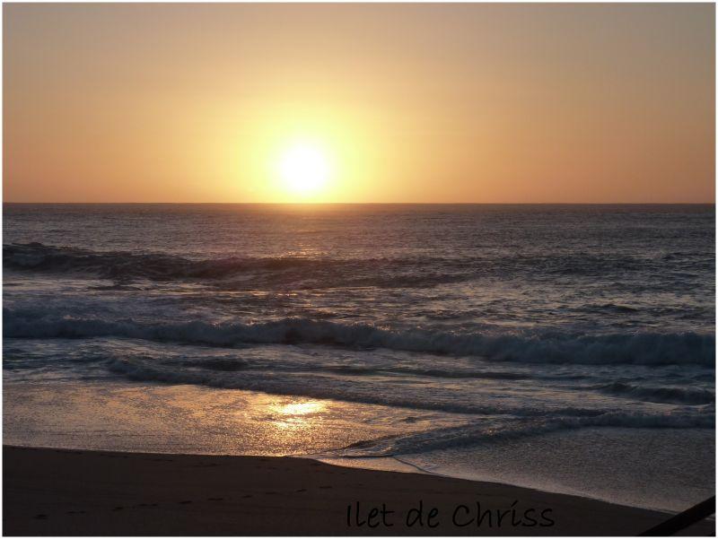 Coucher de soleil à Boucan