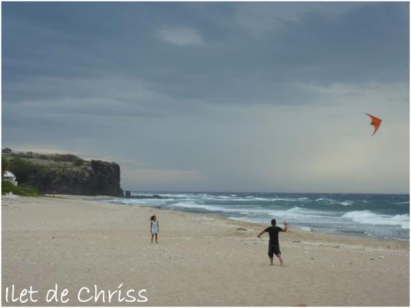 Cerf volant sur la plage