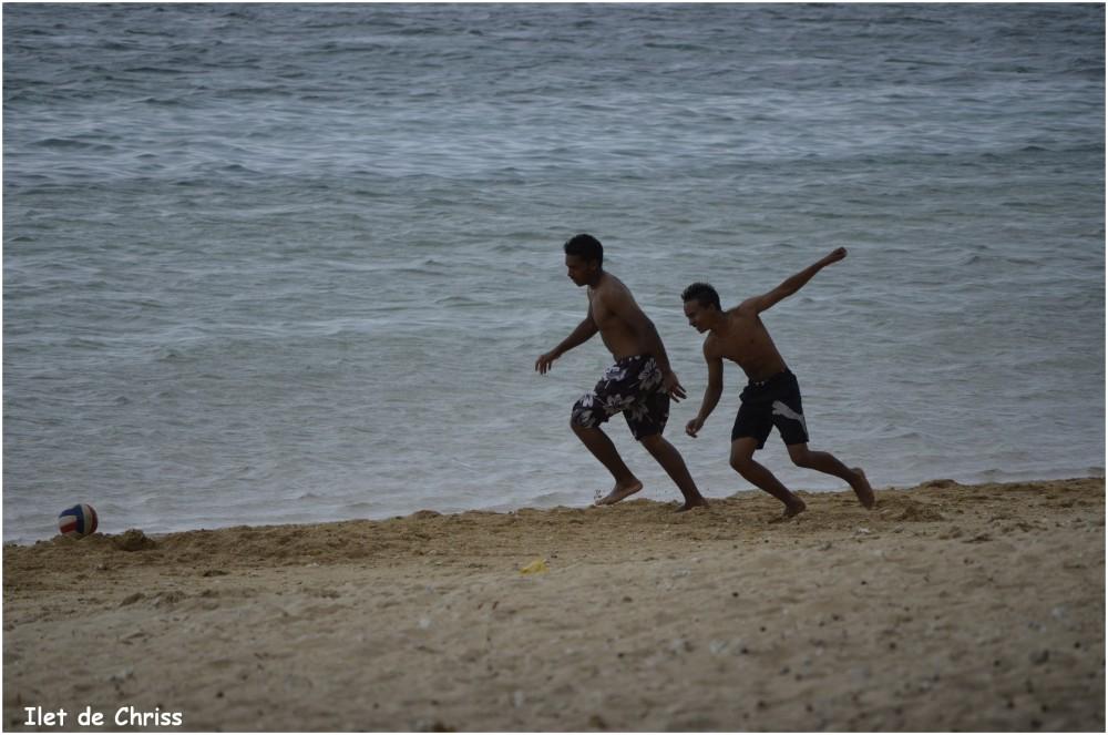 Jeux sur le sable
