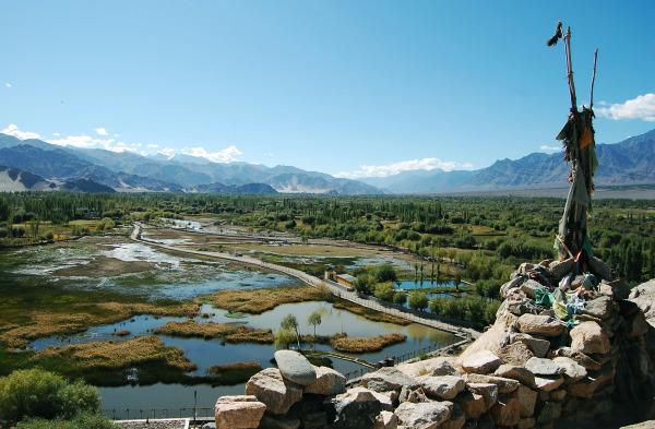 Shey valley near Ladakh