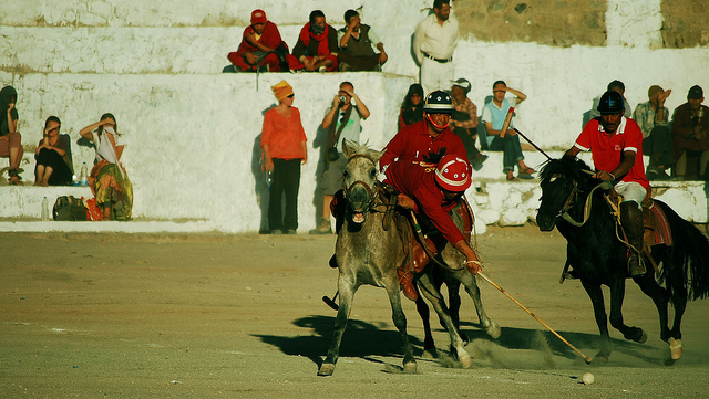 Polo match at Leh