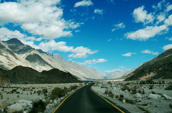 Road through Ladakh