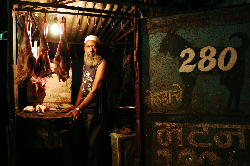Mutton seller in Pune