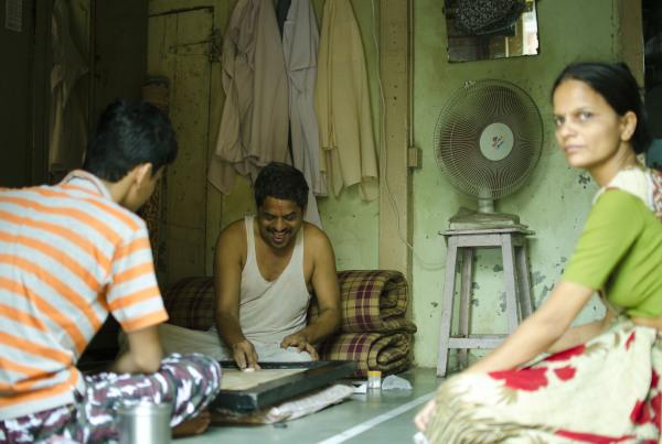 Happy family in Kasbapeth